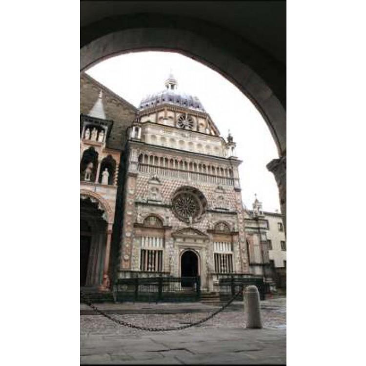 Bergamo Cappella Colleoni arco | Quadro su tela