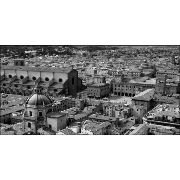 Bologna in Black | Quadro su tela