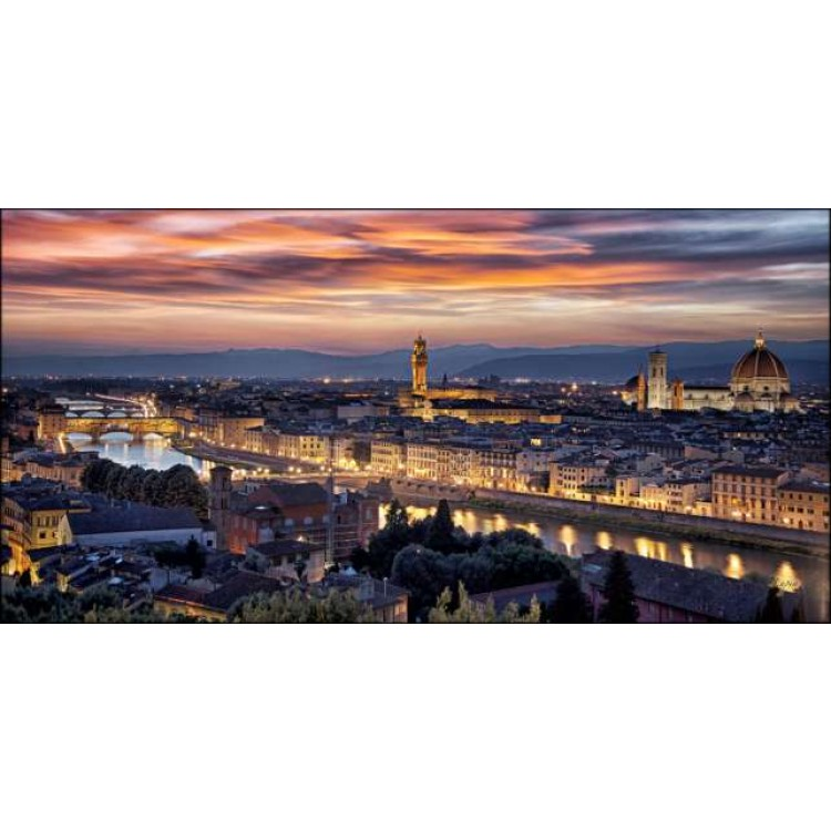 Firenze di sera | Quadro su tela