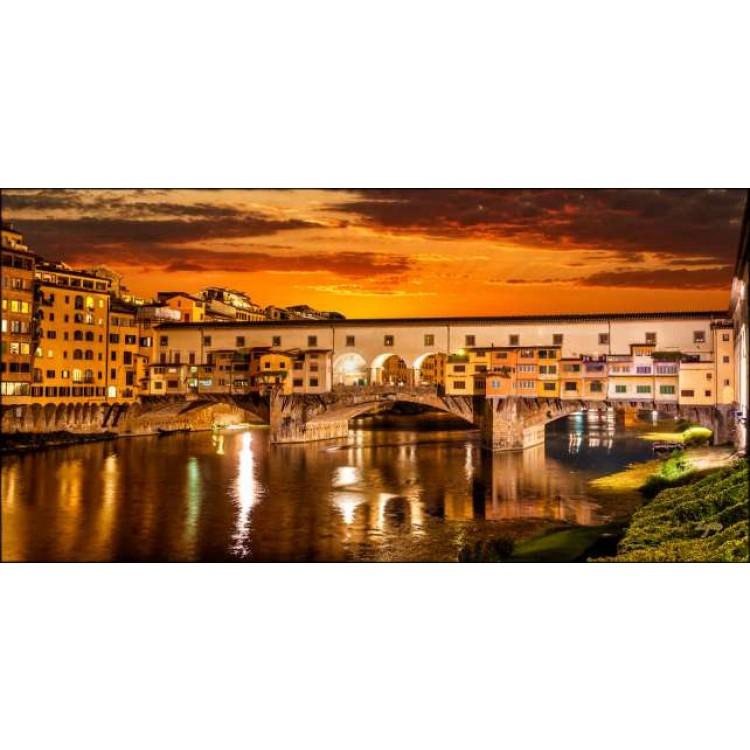 Firenze al crepuscolo | Quadro su tela
