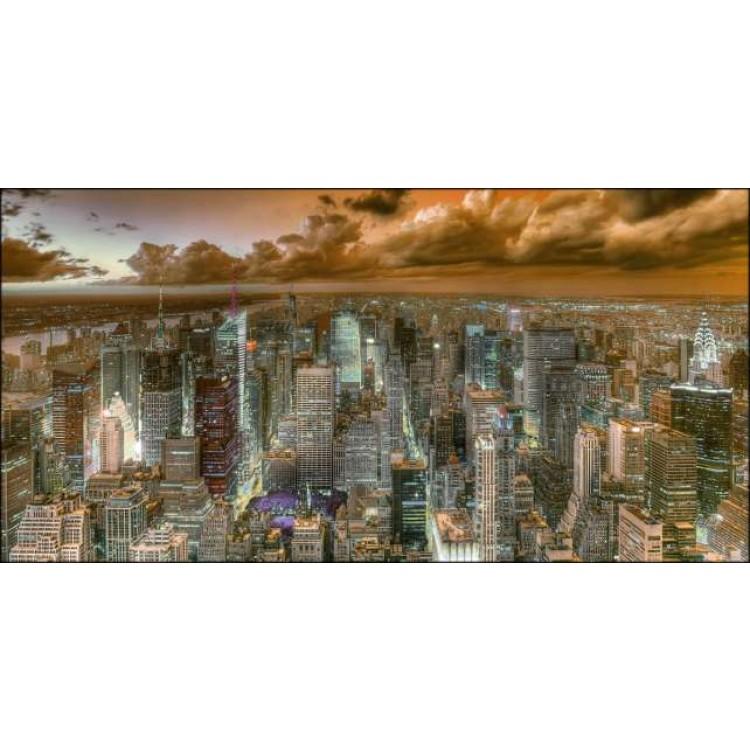 New York View | Quadro America su tela