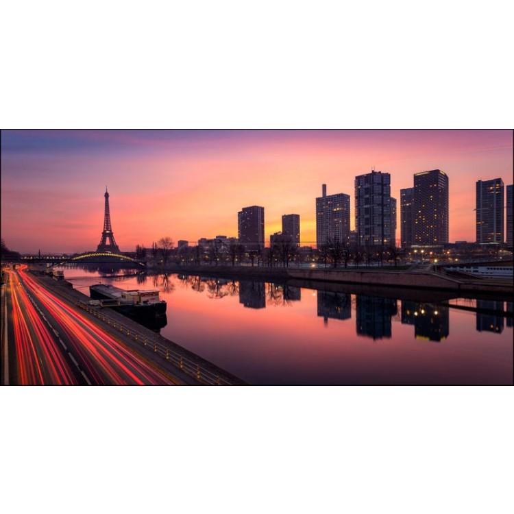 L'alba di Parigi   Quadro su tela