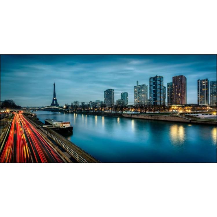 Parigi di sera | Quadro su tela