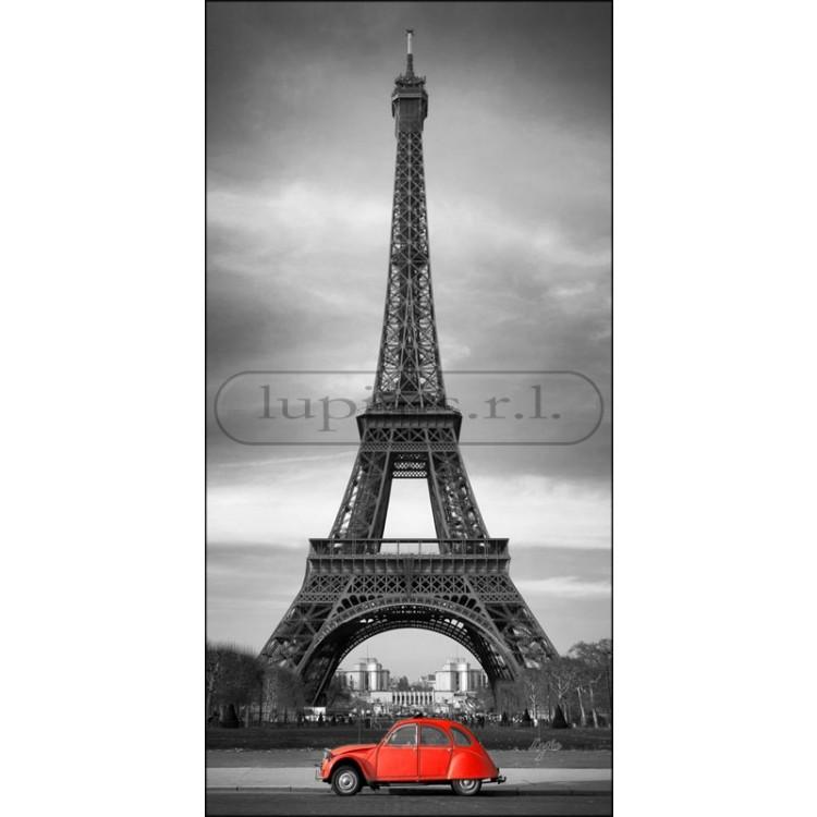 Parigi Dyane Rossa | Quadro di Parigi su tela
