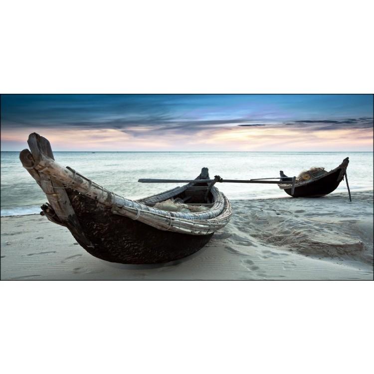 Quadro su tela canoe