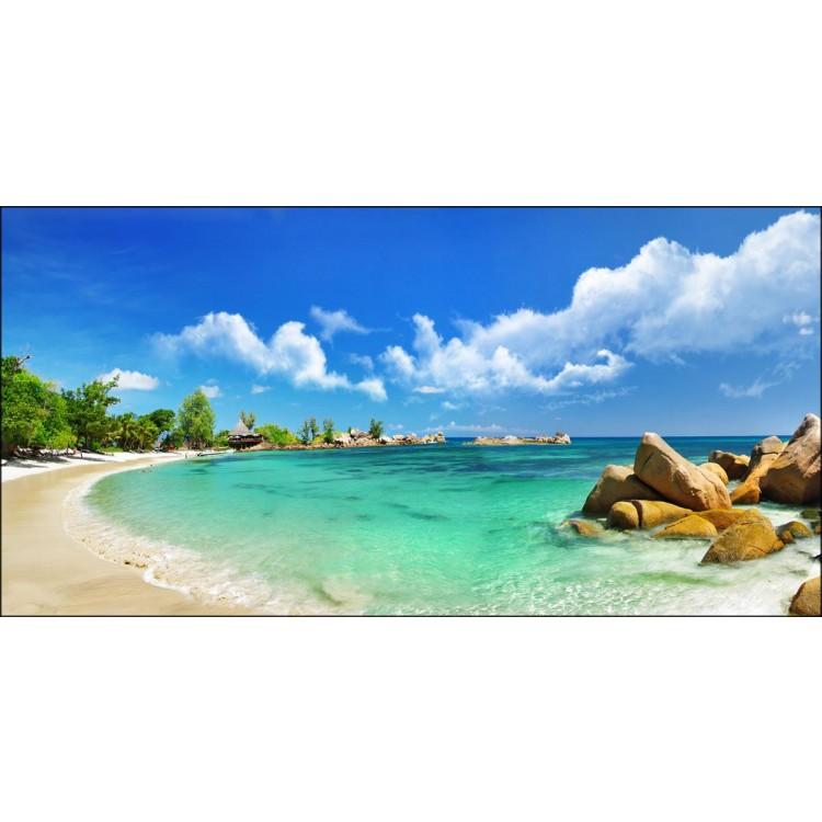 Quadro su tela spiagge