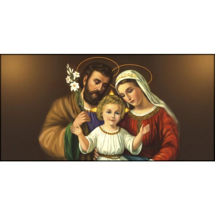 Quadro Sacra Famiglia con Giglio