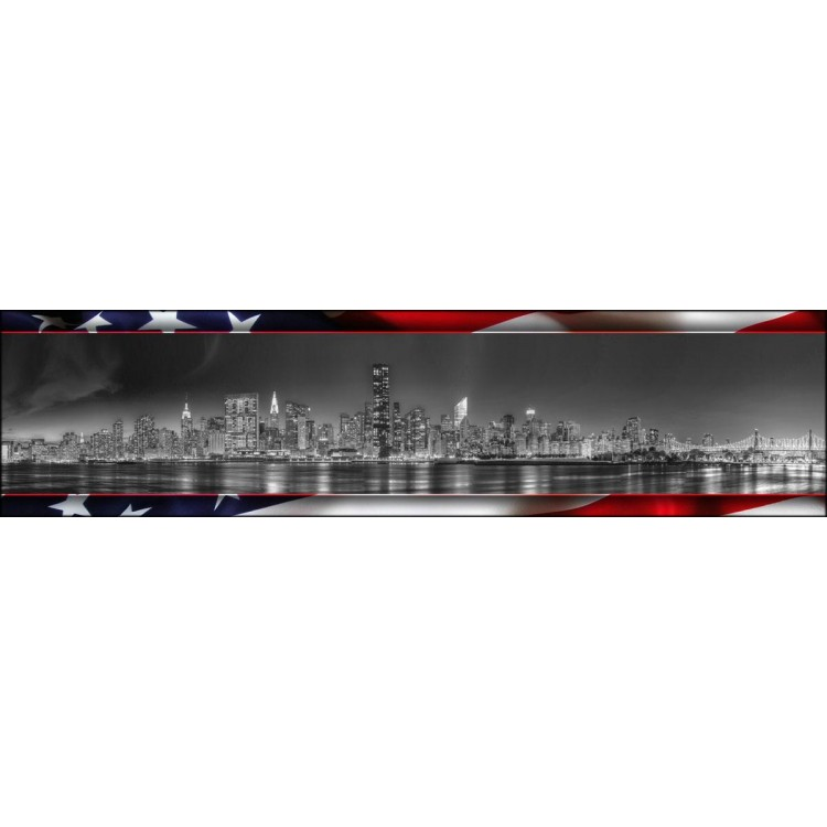 New York Flag | Quadro su tela