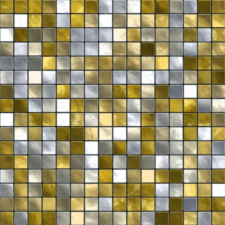 Carta da parati adesiva | Mosaico giallo