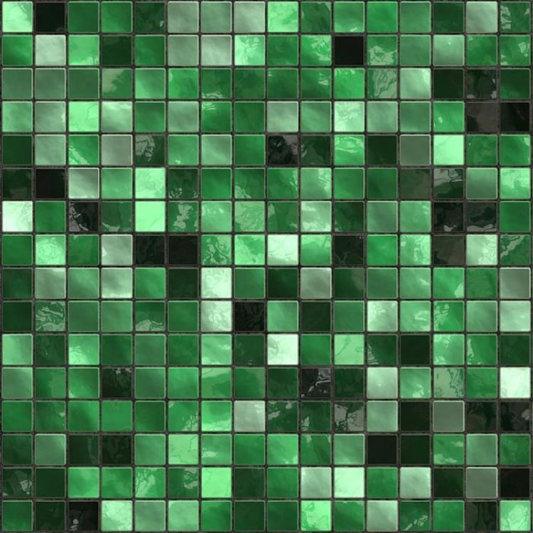 Mosaico verde carta da parati adesiva for Rotolo carta da parati adesiva