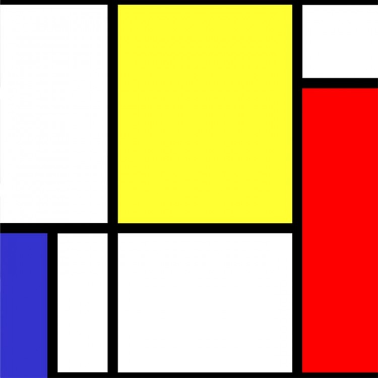 Carta da parati adesiva | Mondrian