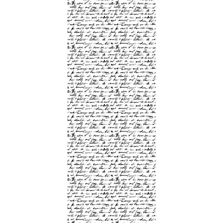 Grafia nera carta da parati adesiva for Carta da parati moderna bianca e nera