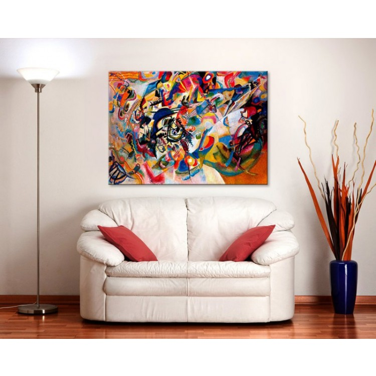 Composizione VII | Kandinskij ambientazione