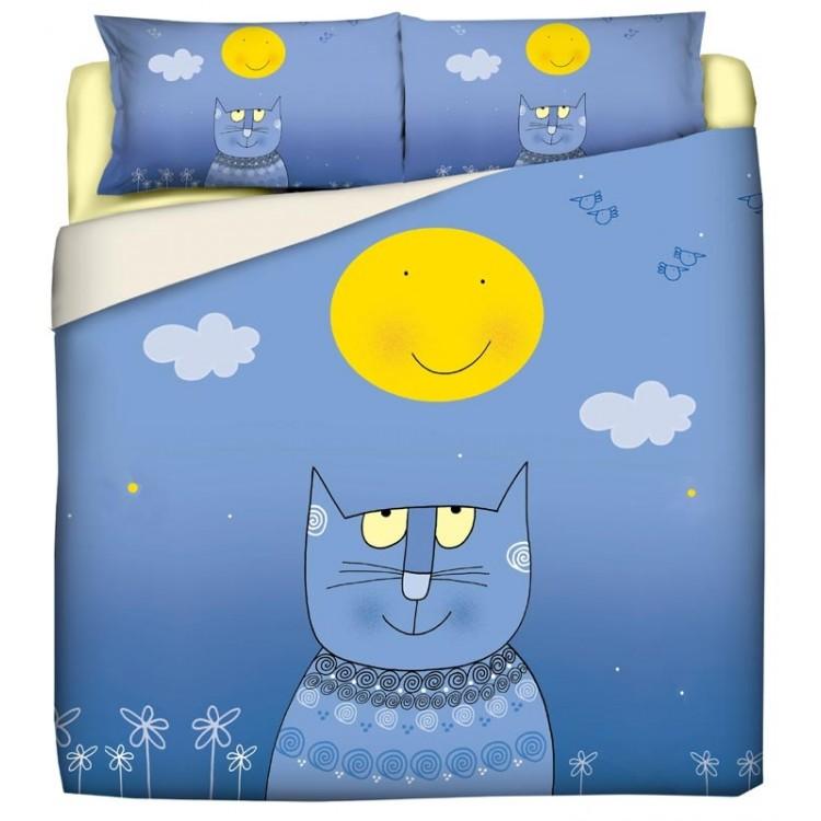 copripiumino nicoletta costa gatto luna