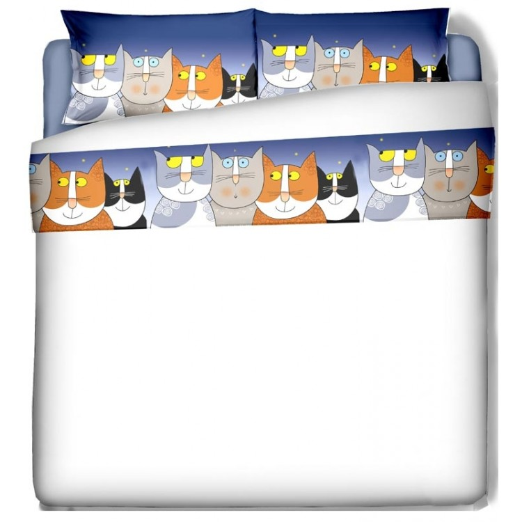 lenzuola gatti nicoletta costa