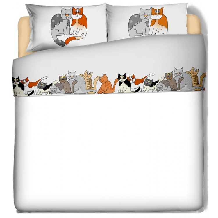 lenzuola gatto e amici nicoletta costa