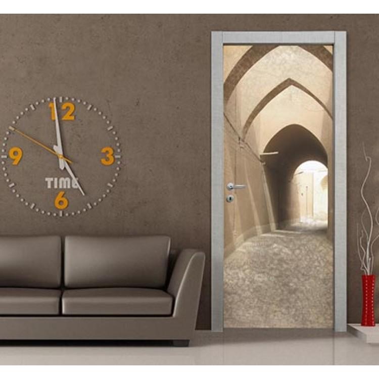 Adesivo per porte design | Portici1