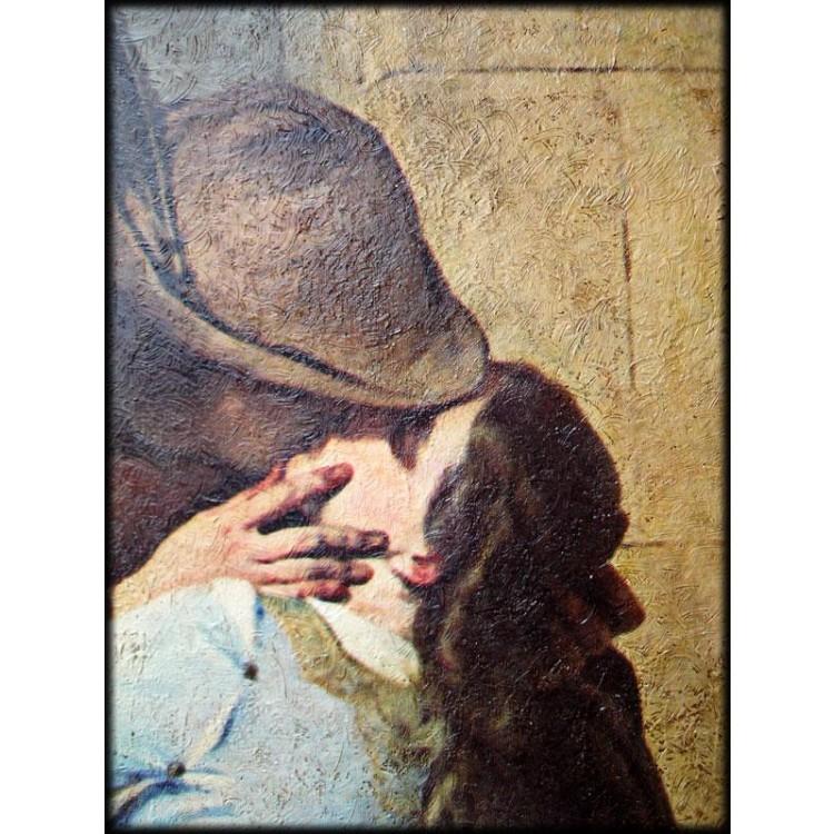 Il Bacio di Hayez - dettaglio