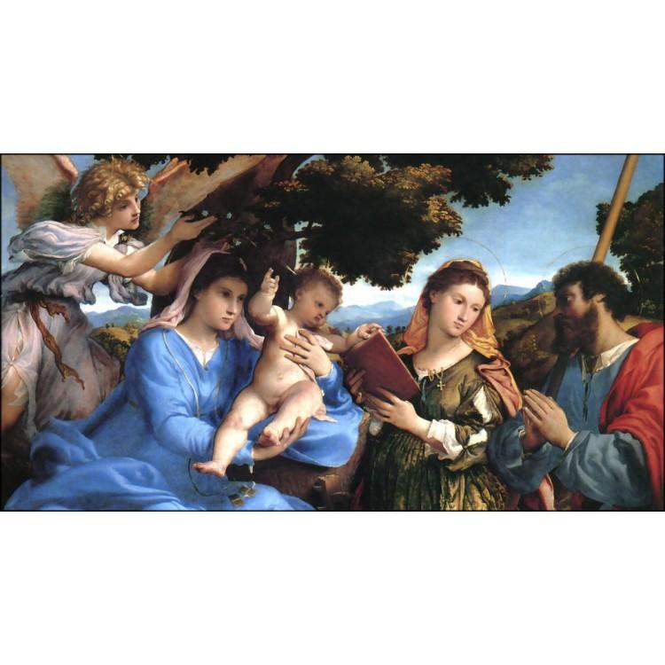 Madonna col Bambino - Lotto