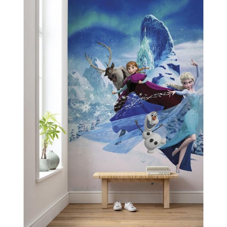 fotomurale Frozen Elsas Magic TNT
