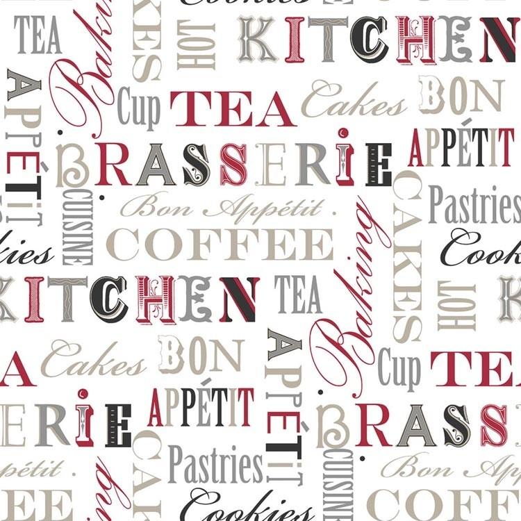 Carta da parati Scritte Cucina 2 | decorazione per cucina