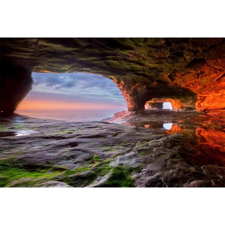 Fotomurale grotta sul mare