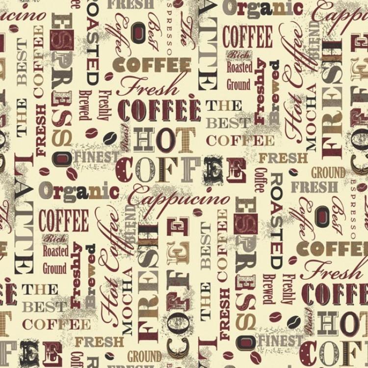 Parato Caffè Rosso Marrone - Carta da parati per cucina