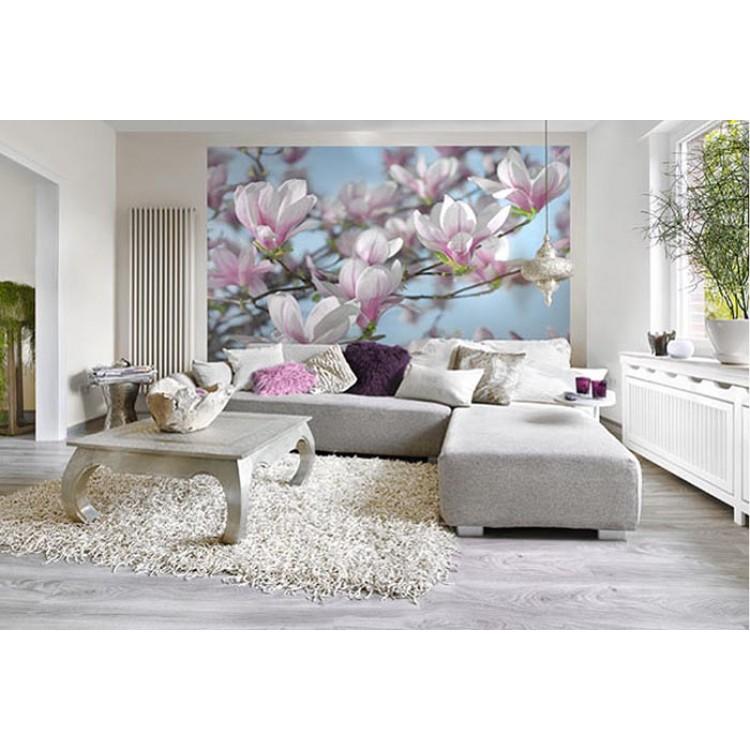 Fotomurale Magnolia | Ambientazione