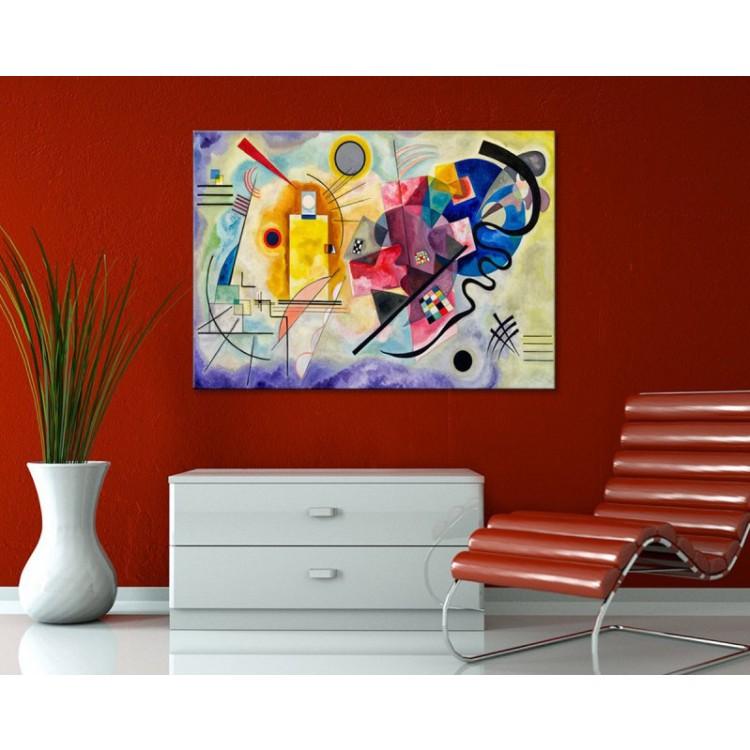 Giallo Rosso Blu   Kandinskij ambientazione