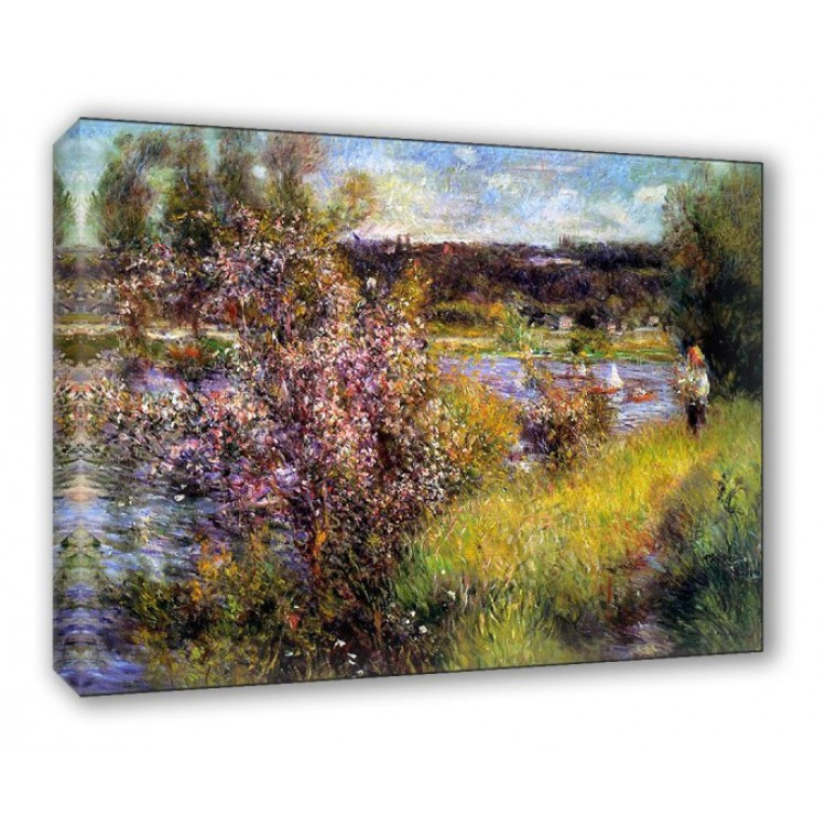 La sein at Chatou | Renoir