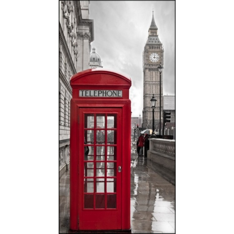 Telephone Box | Quadro di Londra su tela