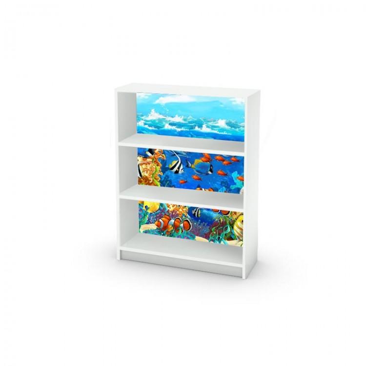 Libreria billy acquario adesivo per mobile facile da - Mobile acquario ikea ...