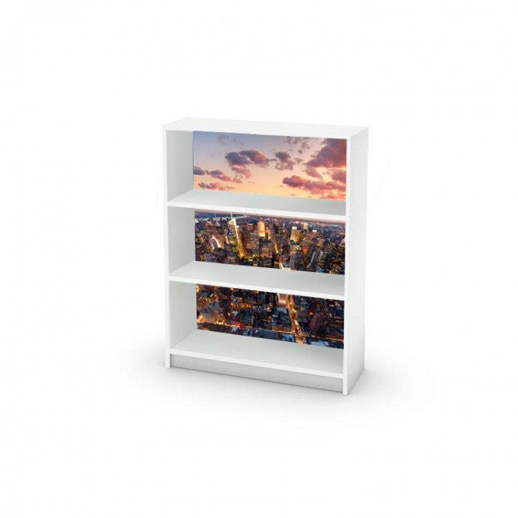 adesivo mobile new york ambientazione