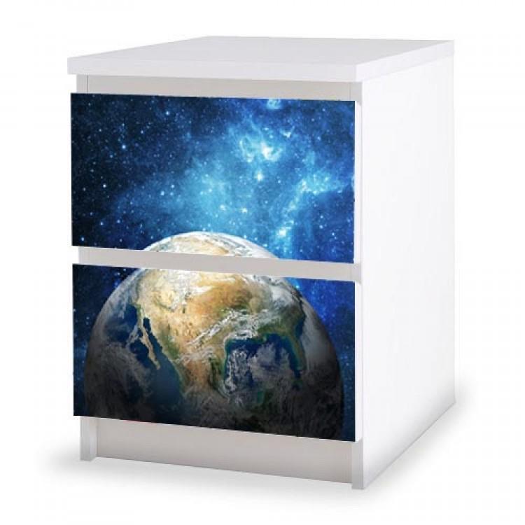 adesivo cassettiera spazio amb