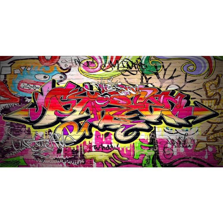 adesivo scaffale graffito