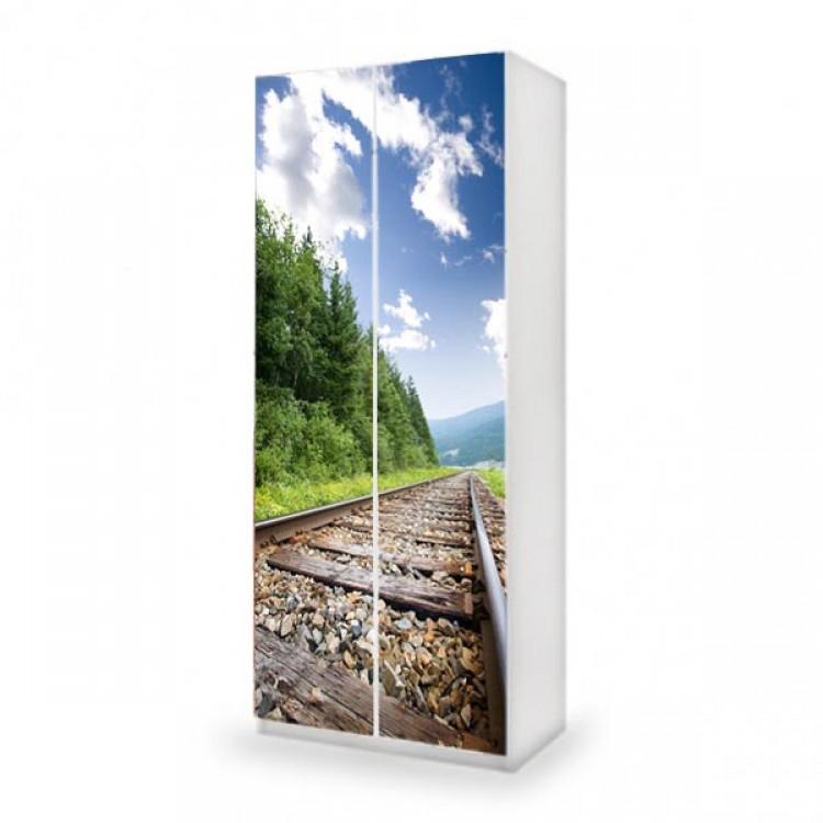 adesivo armadio train ambientazione