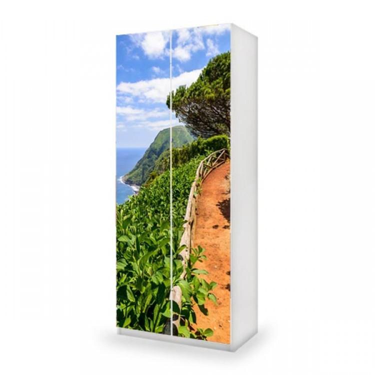 adesivo armadio costa ambientazione