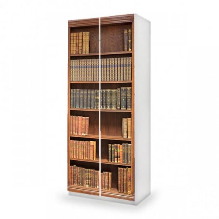 adesivo armadio libreria ambientazione