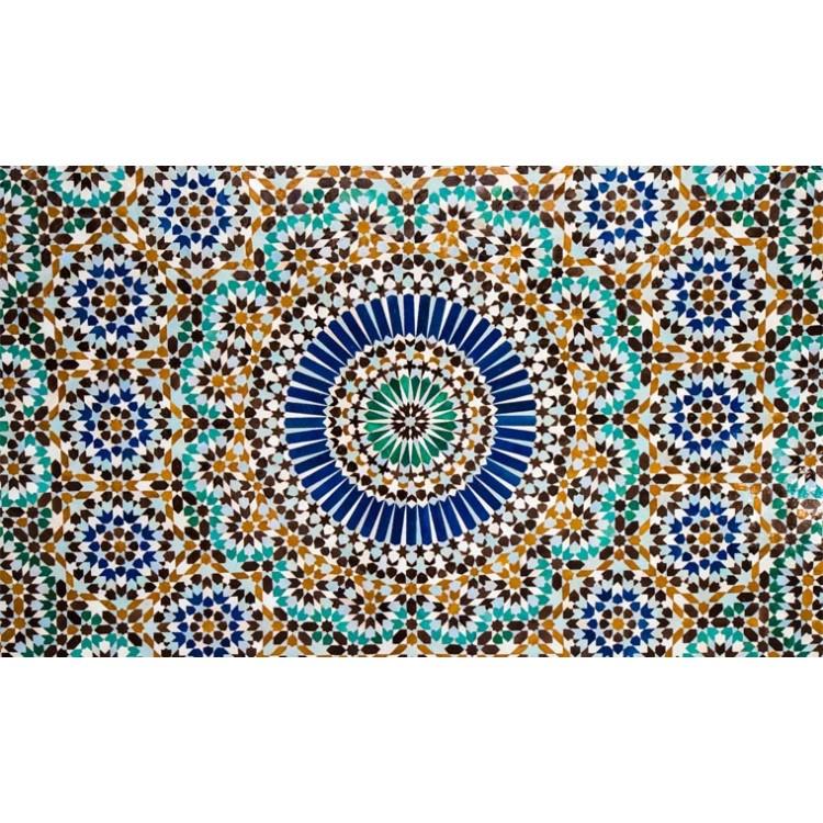 adesivo tavolo mosaico