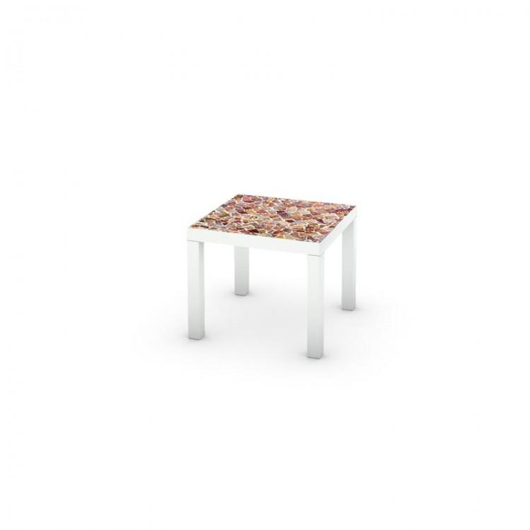 adesivo tavolo pietre amb
