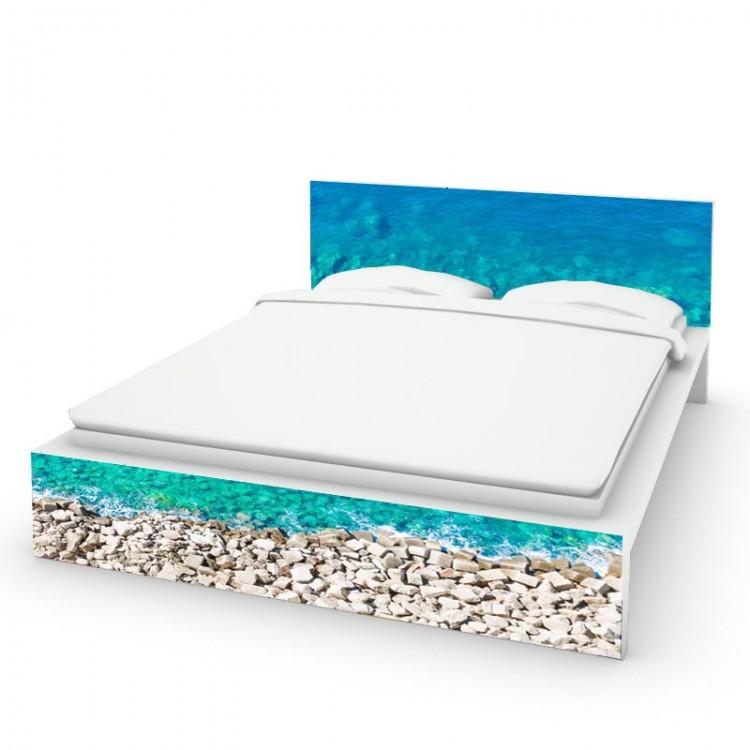 adesivo letto spiaggia amb