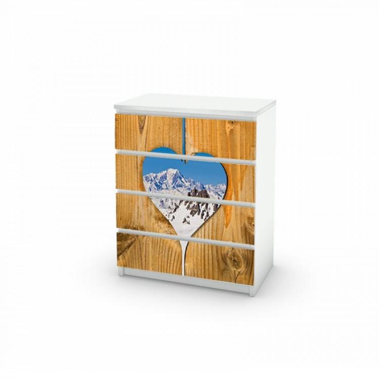 adesivo cassettiera love amb