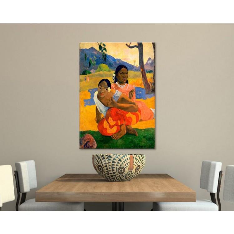 Nafea Faa Ipoipo - Gauguin ambientazione