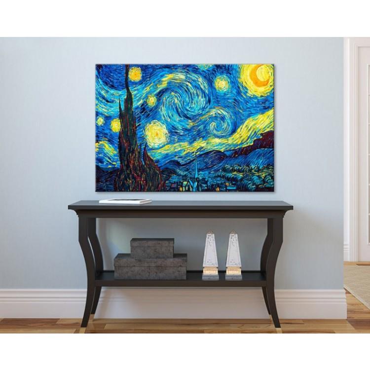 Notte stellata | Quadro Van Gogh ambientazione