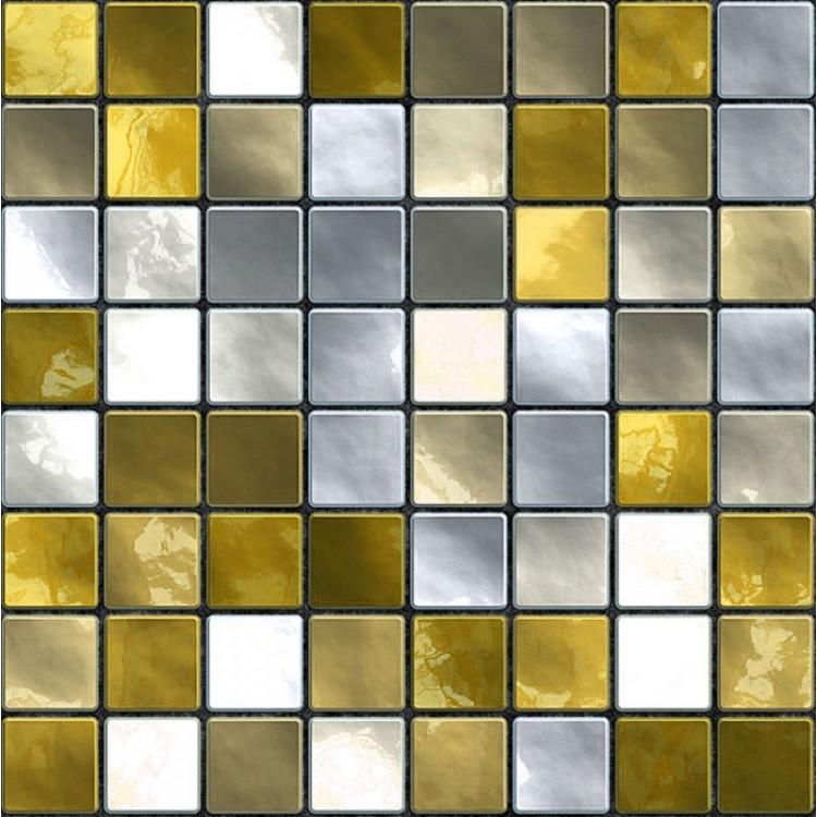 paraschizzi adesivo Mosaico giallo