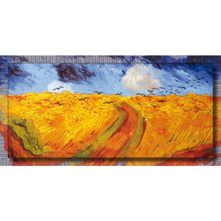 Campo di grano con volo di corvi | Van Gogh