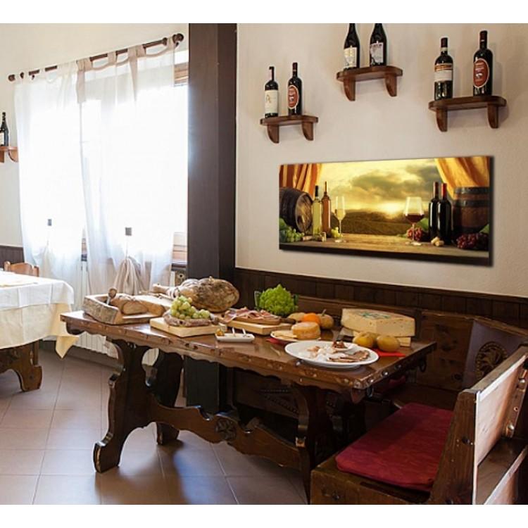 Gusti Toscani | Quadro per cucina alta qualità