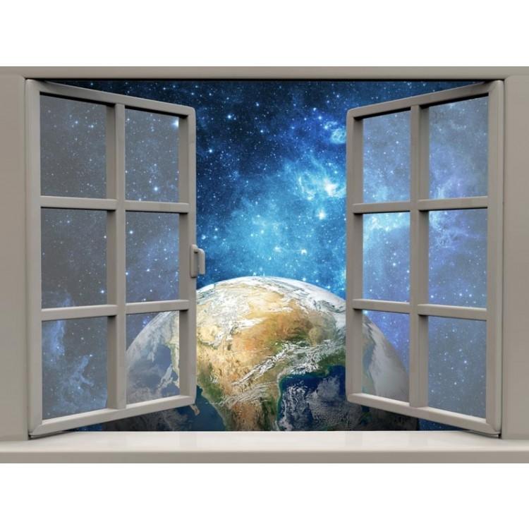 quadro effetto finestra sulla terra