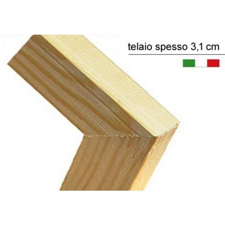 Dettaglio quadro telaio in legno