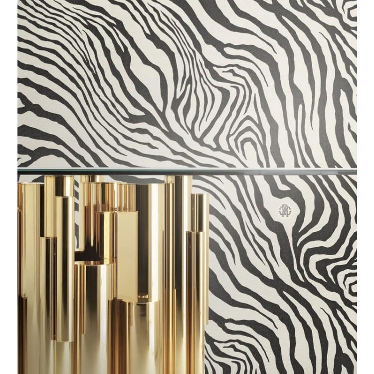 Carta da parati Roberto Cavalli Zebra Luxury 1